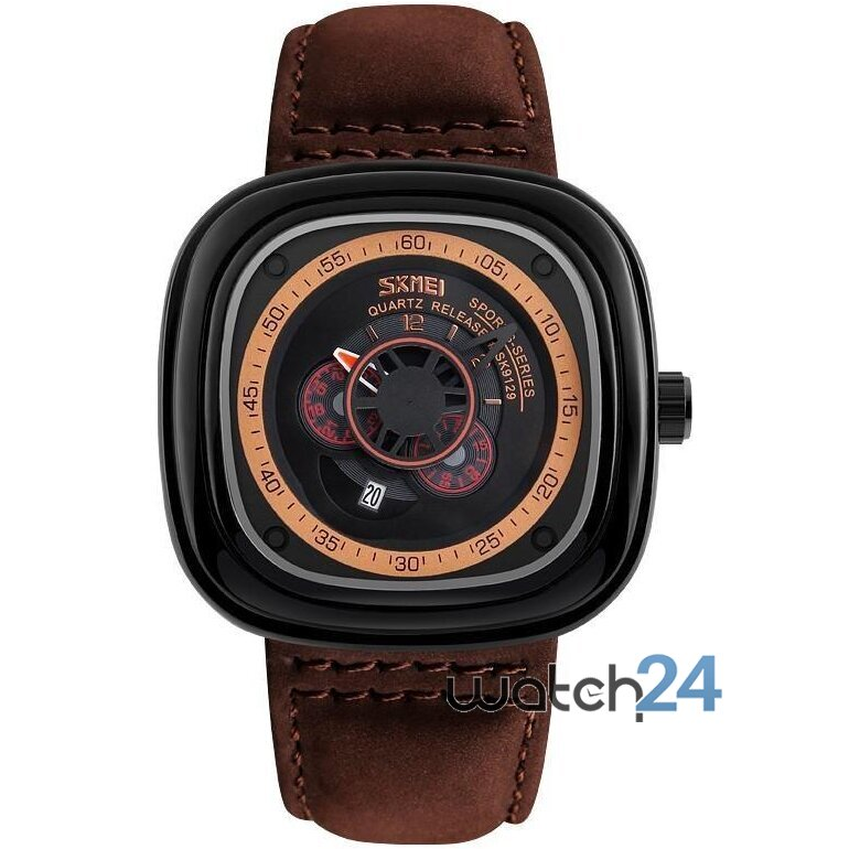 CEAS BARBATESC RETRO SQUARE BROWN-BLACK