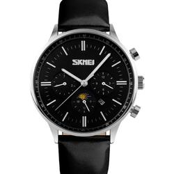MOONPHASE BLACK-BLACK-SILVER