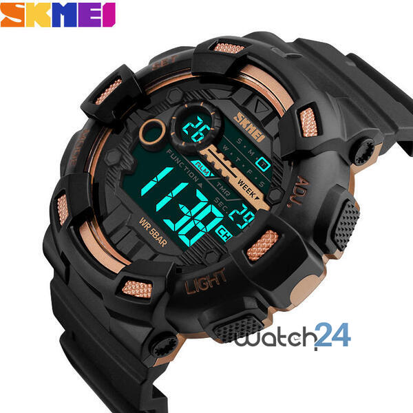CEAS BARBATESC SKMEI GREATEST BLACK-ROSEGOLD