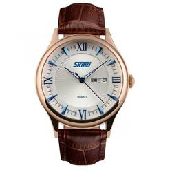 RETRODATE BROWN-GOLD-BLUE