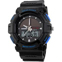 MILITARY SOLARPOWER BLACK-BLUE