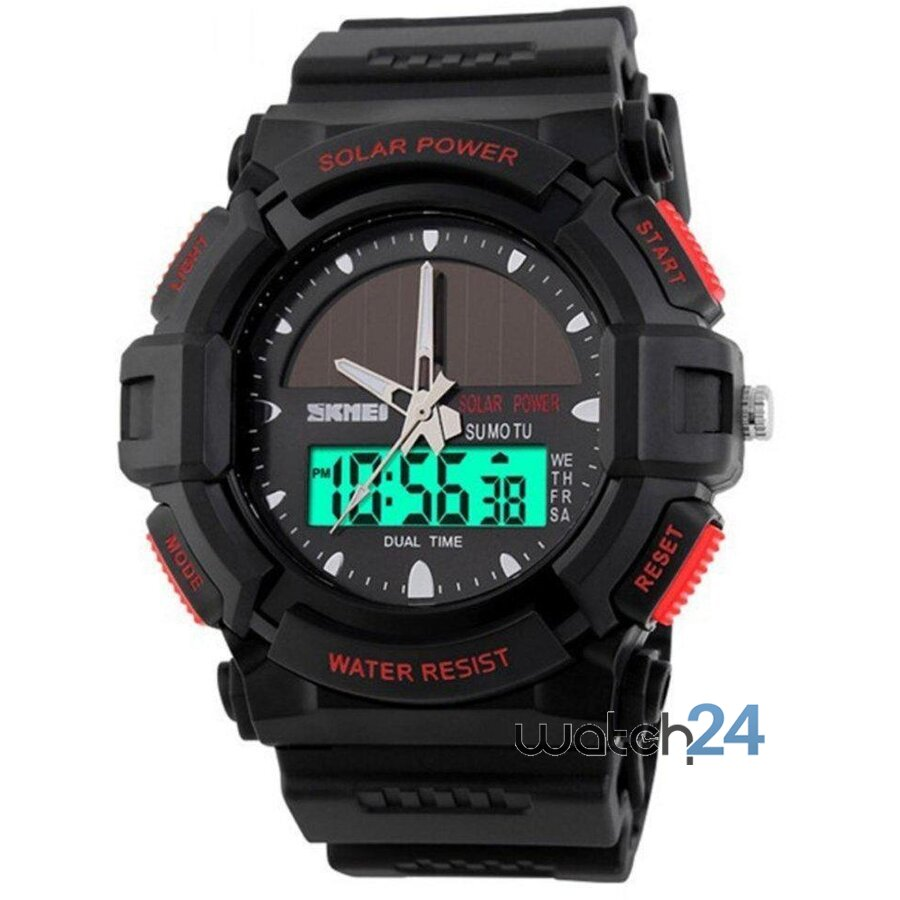 CEAS BARBATESC MILITARY SOLARPOWER BLACK-RED