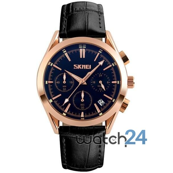 CEAS BARBATESC CHRONODATE BLACK-ROSEGOLD-BLACK