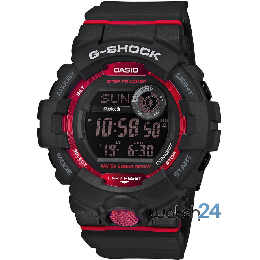 CEAS BARBATESC G-SHOCK GBD-800-1ER BLUETOOTH, STEP TRACKER