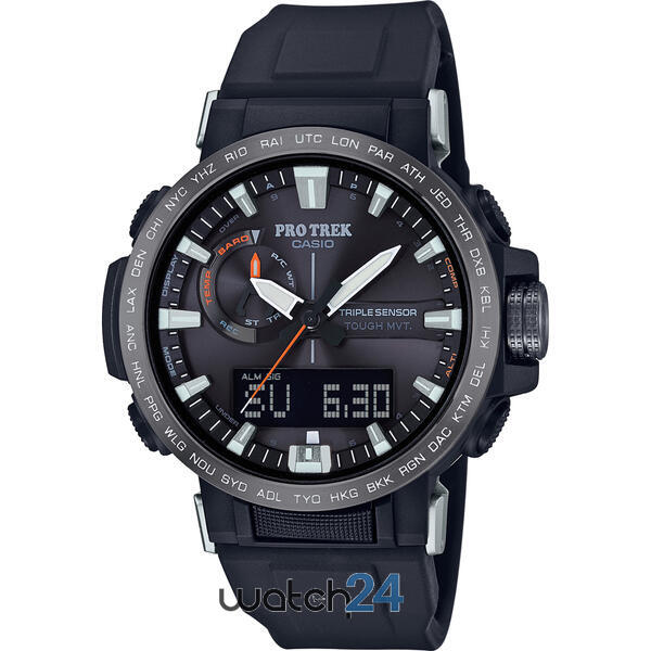 CEAS BARBATESC CASIO PRO TREK PRW-60Y-1AER , SOLAR, TRIPLE SENSOR SMART ACCESS