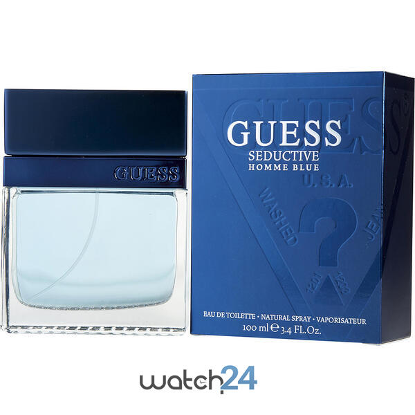 SET CADOU PARFUM GUESS SEDUCTIVE BARBATESC 100ML + CEAS CURREN + VODKA ABSOLUT 50ML +  DECORATIUNI