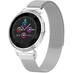 SMARTWATCH SMARTWATCH functii multiple, Bluetooth, Notificari, ecran LED, detectare ritm cardiac, functii sportive, etc. S120