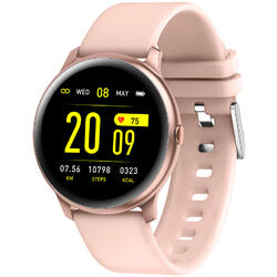 SmartWatch cu Bluetooth, BPM, MMHG, SPO2,Vreme, Notificari, Cronometru, Control audio S50