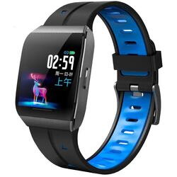 Smartwatch cu Bluetooth, monitorizare ritm cardiac,  notificari, functii fitness S51