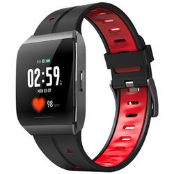 Smartwatch cu Bluetooth, monitorizare ritm cardiac, monitorizare somn, notificari, functii fitness S52