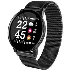 Smartwatch cu Bluetooth, monitorizare ritm cardiac, monitorizare somn, notificari, functii fitness S53