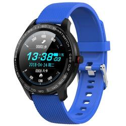 cu bluetooth, monitorizare ritm cardiac, notificari, functii fitness S56