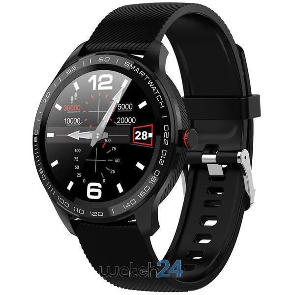 Smartwatch cu bluetooth, monitorizare ritm cardiac, monitorizare somn, notificari, functii fitness S57