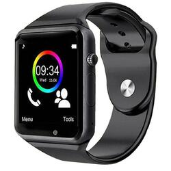 Smartwatch cu Bluetooth, SIM, camera foto, functii fitness, notificari S59