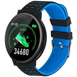 Smartwatch cu Bluetooth, monitorizare ritm cardiac, notificari, functii fitness S63