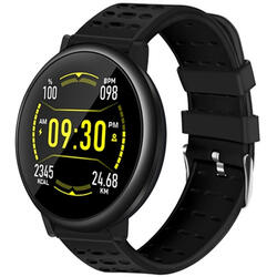 Smartwatch cu Bluetooth, monitorizare ritm cardiac, notificari, functii fitness S64