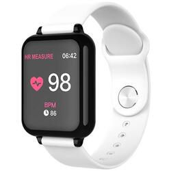 cu Bluetooth, monitorizare ritm cardiac, notificari, functii fitness S67