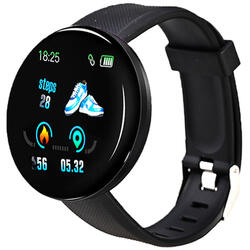 Smartwatch cu Bluetooth, monitorizare ritm cardiac, notificari, functii fitness S70