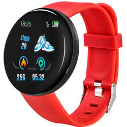 Smartwatch cu Bluetooth, monitorizare ritm cardiac, notificari, functii fitness S71
