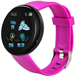 Smartwatch cu Bluetooth, monitorizare ritm cardiac, notificari, functii fitness S74