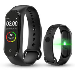 cu Bluetooth, monitorizare ritm cardiac, notificari, functii fitness S83