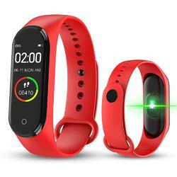 Bratara fitness (V.M4) cu Bluetooth, BPM, SPO2, MMHG, Notificari, Respingere apel, Acces camera foto, Music control  S84