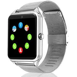 Smartwatch cu Bluetooth, SIM, camera foto, functii fitness, notificari S86