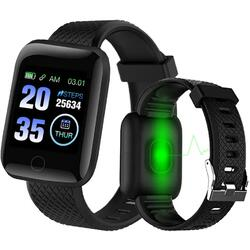 cu Bluetooth, monitorizare ritm cardiac, notificari, functii fitness S93
