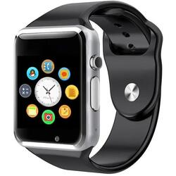 Smartwatch cu Bluetooth, SIM, camera foto, functii fitness, notificari S103