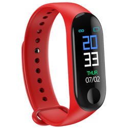 Bratara fitness cu bluetooth, monitorizare ritm cardiac, notificari, functii fitness S107