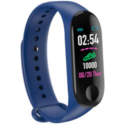 Bratara fitness cu bluetooth, monitorizare ritm cardiac, notificari, functii fitness S108