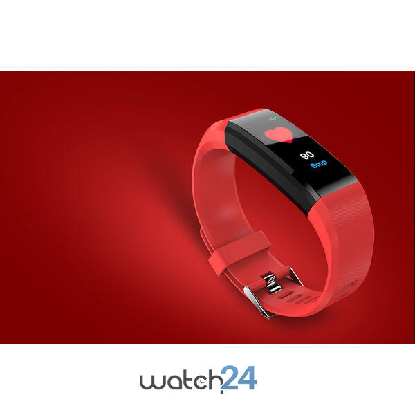 Bratara fitness cu Bluetooth, monitorizare ritm cardiac, notificari, functii fitness S112