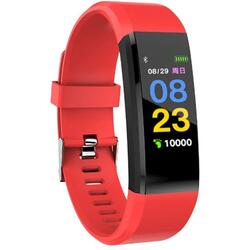 cu Bluetooth, monitorizare ritm cardiac, notificari, functii fitness S112