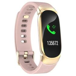 cu Bluetooth, monitorizare ritm cardiac, notificari, functii fitness S118