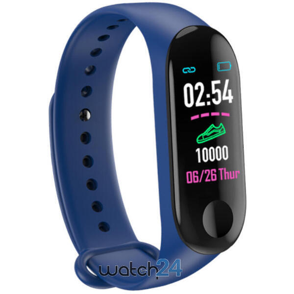 Bratara fitness cu bluetooth, monitorizare ritm cardiac, notificari, functii fitness S122