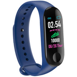 cu bluetooth, monitorizare ritm cardiac, notificari, functii fitness S122