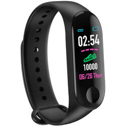 Bratara fitness cu bluetooth, monitorizare ritm cardiac, notificari, functii fitness S123