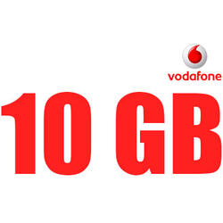 Cartela Vodafone BONUS 10GB NET National + 100 minute si SMS-uri Nationale + Nelimitat minute si SMS-uri in retea