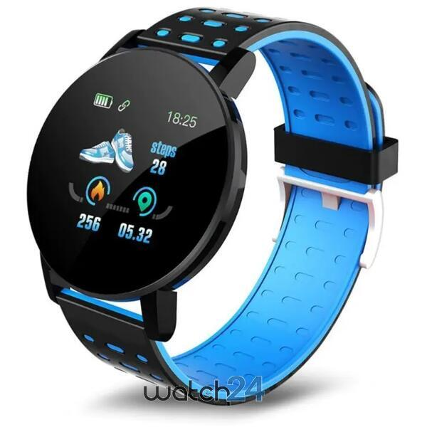 Smartwatch cu Bluetooth, monitorizare ritm cardiac, notificari, functii fitness S172