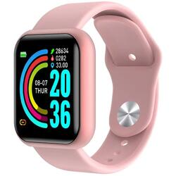 Smartwatch cu Bluetooth, monitorizare ritm cardiac, notificari, functii fitness S176