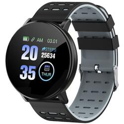 Smartwatch cu Bluetooth, monitorizare ritm cardiac, notificari, functii fitness S178