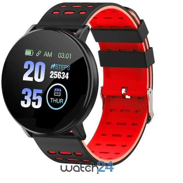 Smartwatch cu Bluetooth, monitorizare ritm cardiac, notificari, functii fitness S179