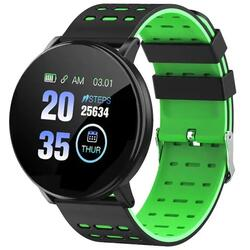 Smartwatch cu Bluetooth, monitorizare ritm cardiac, notificari, functii fitness S180