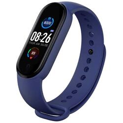 Bratara fitness (V.M5)  cu Bluetooth, BPM, SPO2, MMHG, Notificari, Respingere apel, Acces camera foto, Music control S182