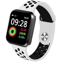 Smartwatch cu Bluetooth, monitorizare ritm cardiac, notificari, functii fitness S186