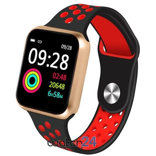 Smartwatch cu Bluetooth, monitorizare ritm cardiac, notificari, functii fitness S184
