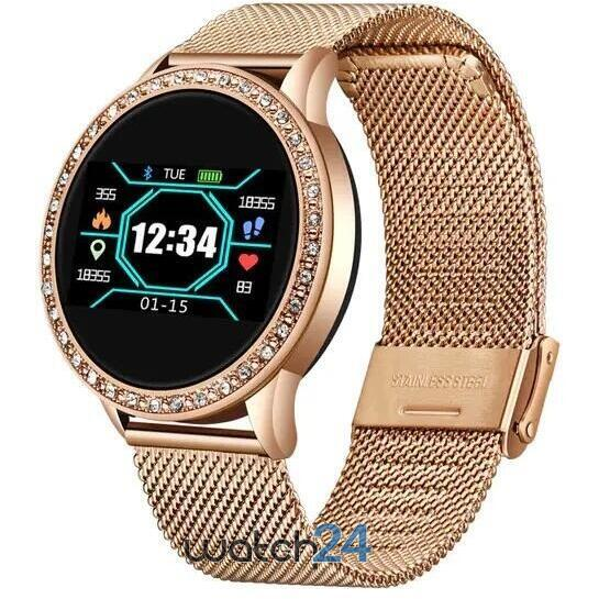 Smartwatch LIGE cu Bluetooth, BPM, MMHG, Acces camera foto, Notificari, Monitorizare somn S197