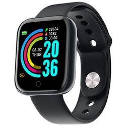 Smartwatch cu Bluetooth, BPM, MMHG, SPO2, Calorii, Notificari, S216